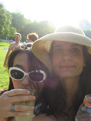 nothing like friends food drinks and some fun in the sun (Atlantisa7) Tags: nyc picnic mit centralpark itp goingaway 177 sheepmeadow