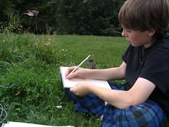 BW Nature Journaling