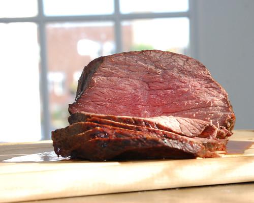 Food Photography  Sliced Roast Beef