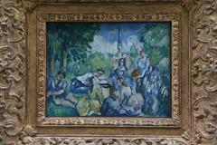 Cezanne - Le Djeuner sur l'herbe (janeymoffat) Tags: paris france paintings musee museums cezanne orangerie paulcezanne ledjeunersurlherbe musedelorangerie