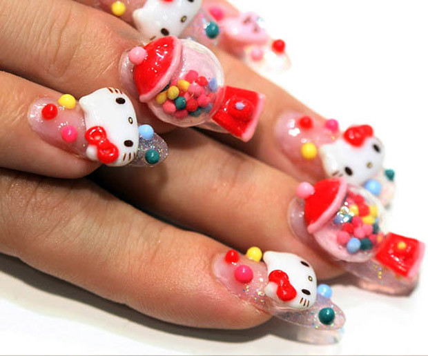 Incredible Japanese nail art | Daily Onigiri