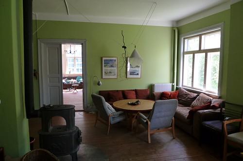 Wohnzimmer im Falsterhus
