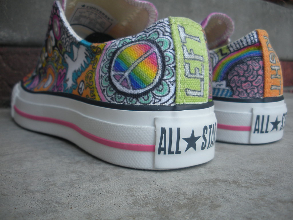 c6cf352b6ab2c5 Back Left View (cupcakeshoes) Tags  design shoes custom sharpies  customization cupcakeshoes