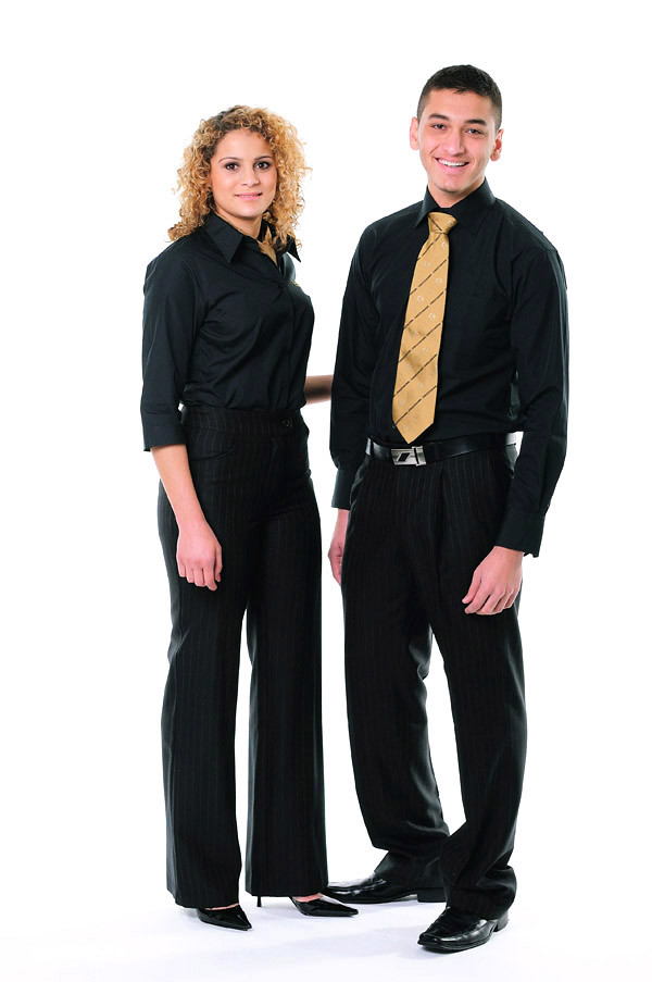 Corporate Fashion, Slacks- Studio White Background