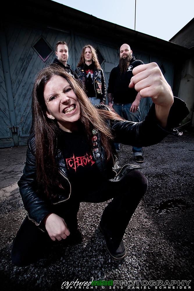 Deathfist - Promoshooting - Band - Strobist - Wuppertal