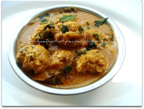 Chicken Kofta Kurma