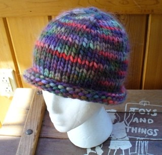 Free Knitting Pattern Rolled Brim Hat : Ravelry: Easy Roll Brim Knit Hat pattern by Laurie Perry