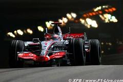 GP Monaco - Salida del tunel