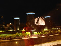 E.T (extraterrestrial) (Suh@il) Tags: pakistan monument lights slowshutter nationalmonument islamabad sonyh5 suhailakhtar