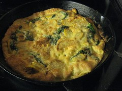 Frittata after