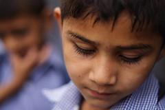 Contemplative (Dave and Bec) Tags: nepal portrait kids orphanage kathmandu theface