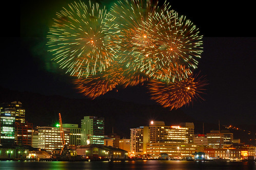 Fireworks (Composite) (by -Nicole-)