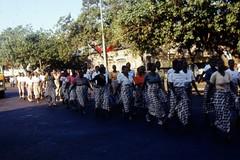 Frauendemonstration zum Frauentag in Maputo