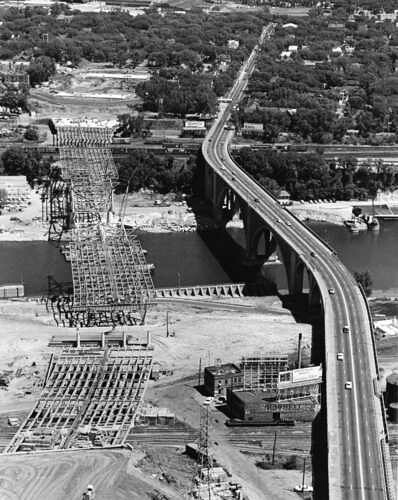 35W Highway Bridge July 1967