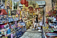 inside chinatown (Kris Kros) Tags: china california usa cali photoshop photography la fan town us los high nikon chinatown dynamic angeles tiger bruce goods made socal lee kris lantern d200 import trade range seller hdr kkg buyer photomatix kros kriskros kk2k kkgallery