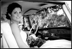 Ready to Go (fensterbme) Tags: wedding columbus blackandwhite bw woman 20d work bride interestingness l chryslerimperial weddingphotography 2470mm fensterbme canon2470mm interestingness418 i500 canonllens canon2470mmf28l fenstermacherphotography vanfleetrousewedding explore30aug07