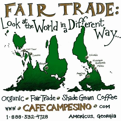 Cafe Campesino t-shirt back