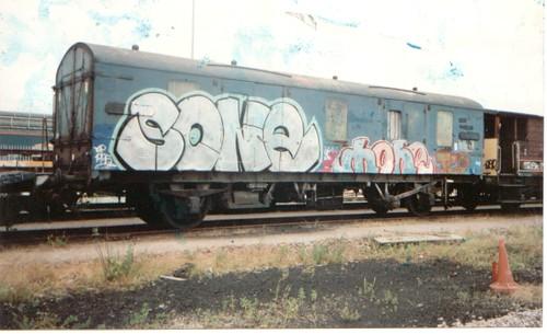 Sone & Mone graffiti