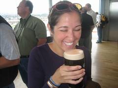 Tania, pre-Guinness