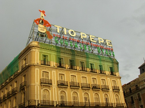 Tio Pepe sign, Sol