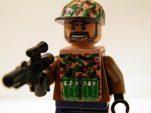 Custom Lego Call of Duty 4 Gaz In Camo Vest