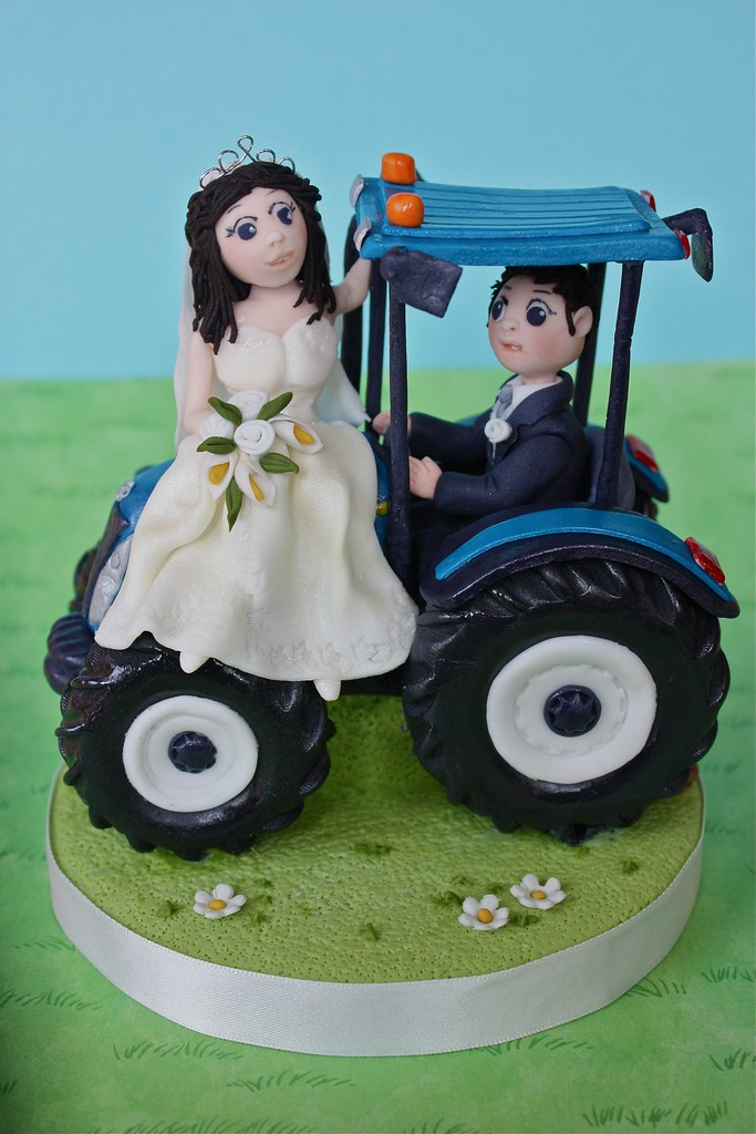 blue tractor wedding cake topper the world s newest photos of model and newholland flickr 12009