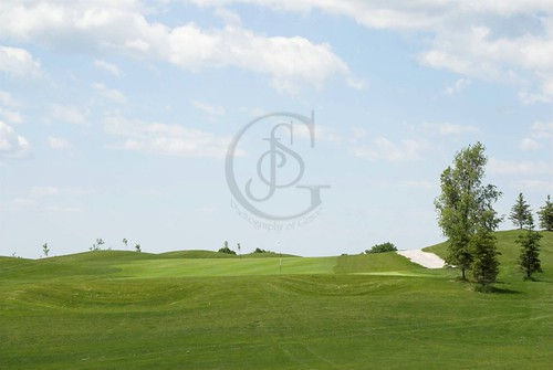 A golf course near Orillia