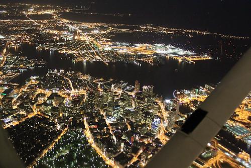 Downtown Boston at 2500'