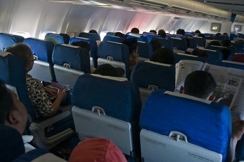 Economy Class Seating Plan