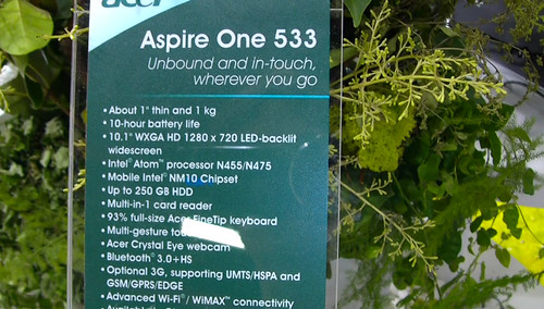 Acer Aspire One 533