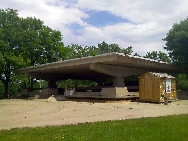 Penn Park picnic shelter