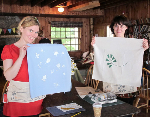 printing- Ysolda and Sarah