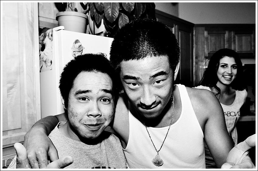 Chris & Eric.
