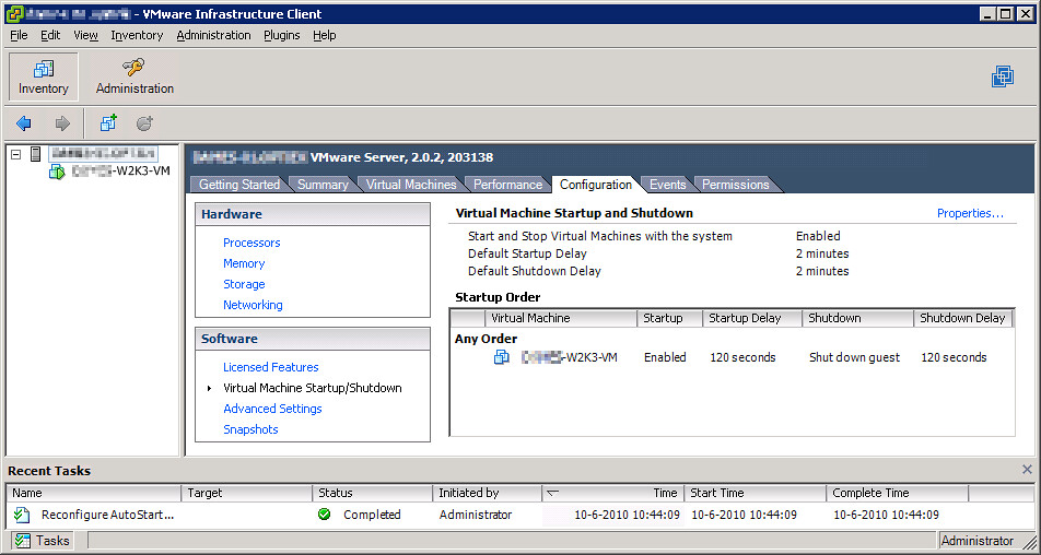 Using a USB connected APC UPS with Windows Server 2008 and