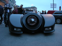 Batmobil front, by Andrea Gerak