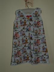 Repro Vintage Girls Slip Dress (Stitching Bevy) Tags: girls vintage dress slip dickandjane repro