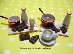 Dollhouse Ice n Hot Chocolate Prep Boards