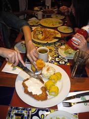 碳烤雞胸肉及鮮香菇