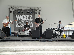 WOZZ stage in Green Bay, WI
