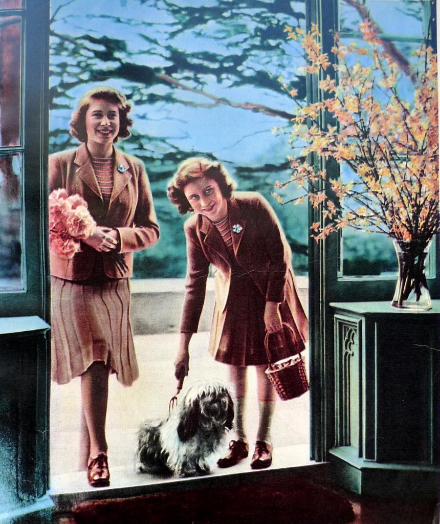 Elizabeth and Margaret 1940