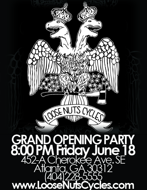 Loose Nuts Grand Opening