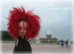 Prudey, crazy hairs and Buckingham Fountain -- Chicago