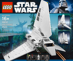10212 Imperial Shuttle (1) (Dunechaser) Tags: set starwars lego legostarwars 2010 imperialshuttle 10212 lambdashuttle