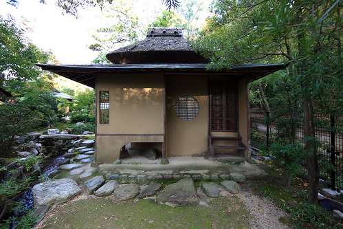 Japanese style tea room / 茶室(ちゃしつ)