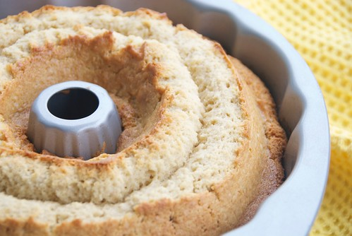 golden rum cake from Booze Cakes cookbook
