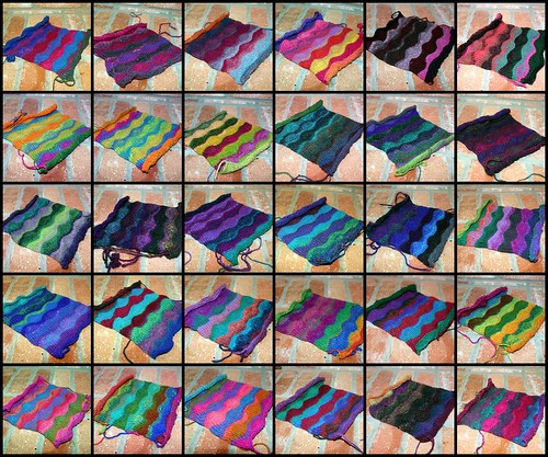 30 of my 31 lizard ridge squares