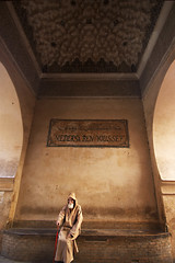 Ben Youssef (bgladman) Tags: travel people man men photography photo nikon d70 stock explore morocco maroc marocco medina marrakesh nikkor madrassa marruecos marokko moroccan medersa itsonginvite モロッコ benyoussef almaghrib 摩洛哥 brendangladman