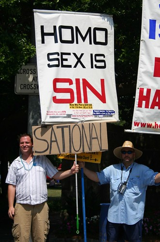 Counter argument protesting christians
