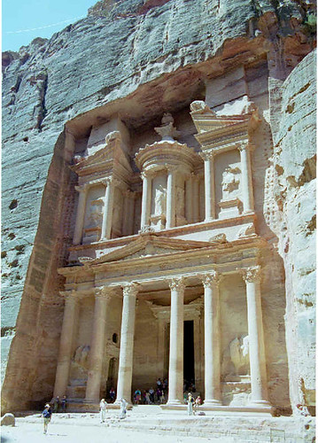 Petra, new seven wonders of the world
