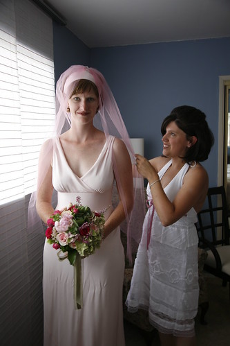 Bride and her Matron